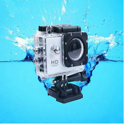 Novatek 96650 Waterproof HD 1080P AV 1.5 Inch Car DVR Sport Camera DV