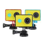 Skyddande Aluminum Shell Inramar Fodral för Xiaomi Yi Action Kamera Bilkameror DVR