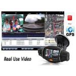 R310 Car DVR Dual Lens Dash Camera GPS G-Sensor Recorder 2.7inch Car DVRs