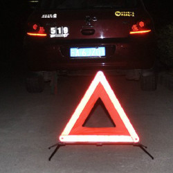 Road Emergency Vikbar Reflekterande Triangle Varningsskyltar