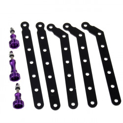 SJ4000 Accessories CNC Aluminum Arms and Screw for SJ4000 Gopro