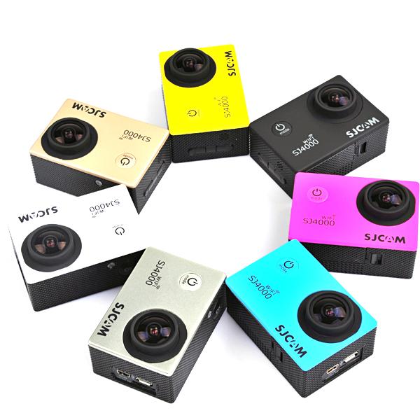 SJcam SJ4000 WiFi Car DVR Camera Sport DV Novatek Waterproof Car DVRs