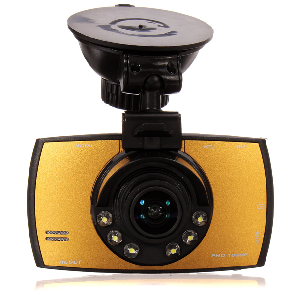 T660 Car Video DVR 1080P 2.7 Inch 170 Degree Wide Angle Screen Car DVRs