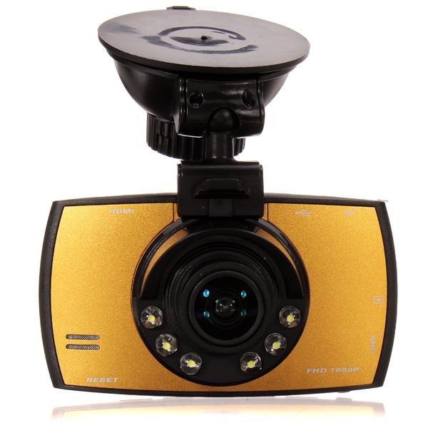 "T660 Bil Video DVR 1080P 2,7"" 170° Vidvinkel Screen Bilkameror DVR"