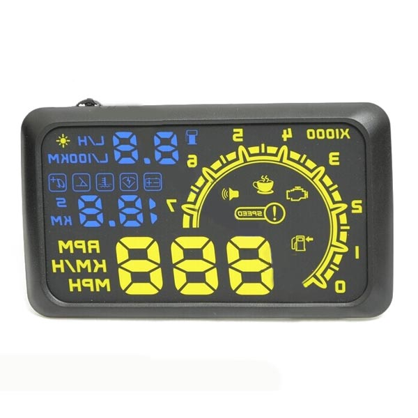 The Fourth Generation ActiSafety HUD Head-Up Display OBD2 Interface Car Alarm & Security