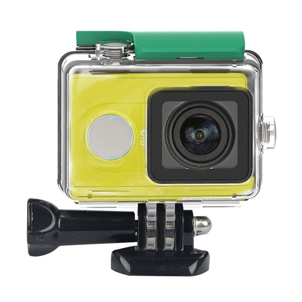 Vattentätt Fodral Dykning 40M Skyddsfodral för Xiaomi Yi Sports Kamera Bilkameror DVR