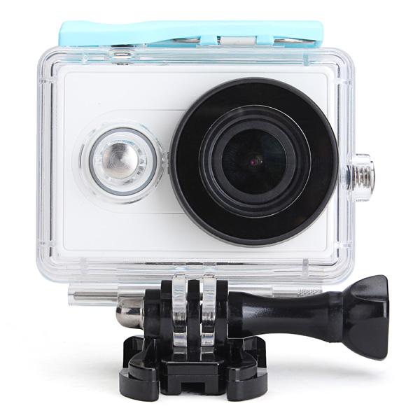Vattentätt Fodral för Xiaomi Yi Sports Kamera Dykning 40M Skyddsfodral Bilkameror DVR