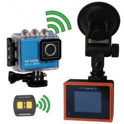 Wifi Waterproof HD 1.5 Inch Car DVR Sport Camera DV Novatek