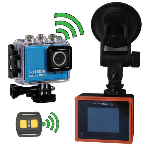 Wifi Waterproof HD 1.5 Inch Car DVR Sport Camera DV Novatek Car DVRs