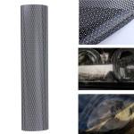 106x28cm Tinting Perforeret Mesh Film Fly-Eye Tint Forlygtepærer Baglygte Udvendig Styling