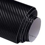 2 X Sort 50CM X 127cm DIY Personlig 3D Bil Sticker Klistermærker Udvendig Styling