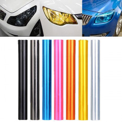 30x300cm Auto Headlight Tail Fog Light Lamp Vinyl Film Sheet Cover