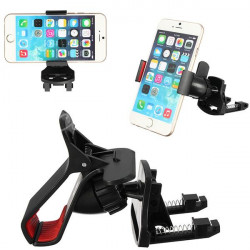 360° Bil Air Vent Klemme Mount  Holder Stativ for Mobile iPhone GPS