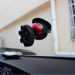 360 Degree Globe Rotatable Suction Bracket Car Phone Holder For iPhone Car Interior Decoration