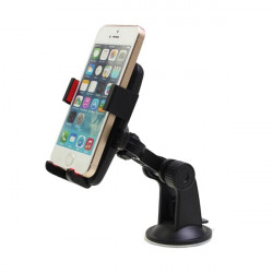 360 Degree Rotating Suction Cup Car Multifunctional Phone Holder