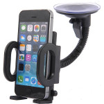 360 Degree Rotating Vehicle Suction Cup Bracket For iPhone / GPS / MP4 Car Interior Decoration