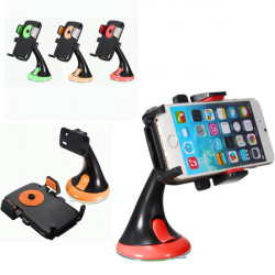 360° Rotating Car Windshield Suction Cup Mount Holder For CellPhone