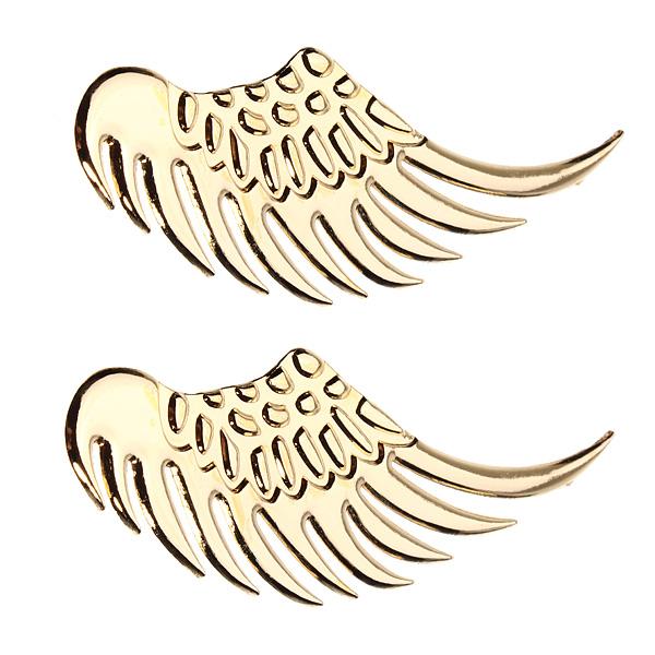 3D Legierung Metall Engel Hawk Flügel Entwurf Auto Emblem Abzeichen Abziehbild Aufkleber Auto Tuning