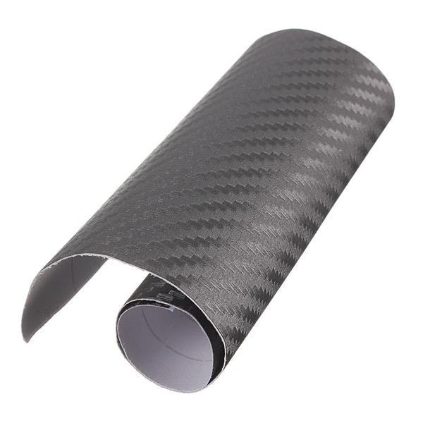 3D Carbon Fiber Vinyl Wrap Film Bil Køretøj Sticker Klistermærker Sheet Roll 10x20cm Udvendig Styling