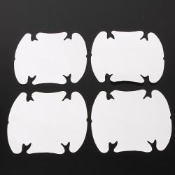 4stk Auto Tür Handgriff Schutzfolie Vinyl Aufkleber Transparent