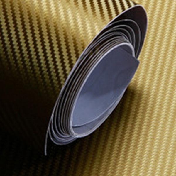 50CM X 127cm DIY Personlig 3D Bil Sticker Klistermærker Carbon Fiber Film Vinyl Udvendig Styling