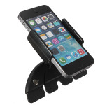 Justerbar Bil CD Slot Mount Holder Stativ for iPhone Samsung LG Interiør Styling