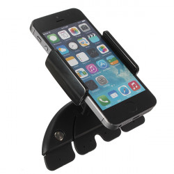 Justerbar Bil CD Slot Mount Holder Stativ for iPhone Samsung LG
