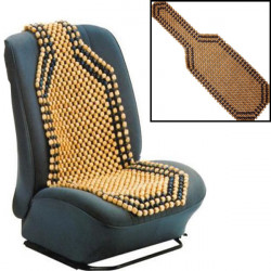 Beaded Trä Front Massage Seat Chair Cover Kudde Bil Office Home