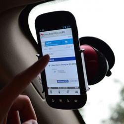 Bil 360° Vridbar Mobiltelefon Hållare Stand GPS för iPhone 4S