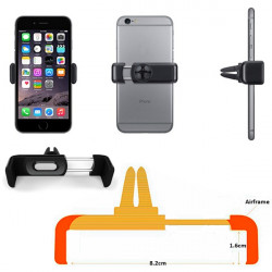 Car Air Frame Vent Mount Cradle Stand Holder For iPhone 6/Plus 5S