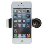 Auto Entlüfter Gerätehalter Stretchable Phone Clamp für Handy GPS Auto-Innenraum