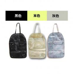 Bil Tilbage Seat Multi Pocket Opbevaring Organizer Arrangement Bag of Chair