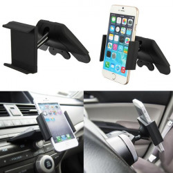 Car CD Slot Mount Holder Cradle for iPhone Samsung HTC Sony LG Nokia