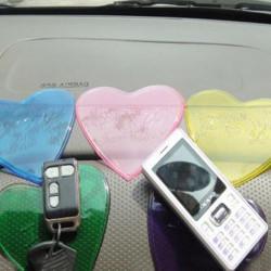 Car Cute Non Slip Pad Heart Shaped Non Slip Mat