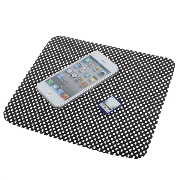 Bil Anti Slip Dash Mat Dashboard Phone Pad Holder Interiør Styling