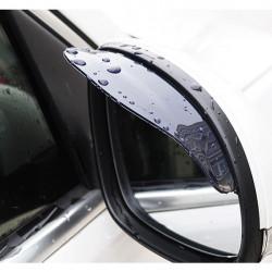 Car Rearview Mirror Rain Cover Shield Flexible Rubber Rain Shade