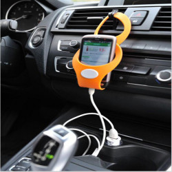 Car Silicone Cell Mobile Phone Holders Stand for iPhone 4