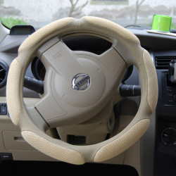 Car Steering Wheel Cover Non Slip Wheel Sandwich Fabrics