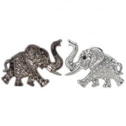 Bilklistermärke Elefant Emblem Fordon Fönster Stötfångare Kropp Emblem