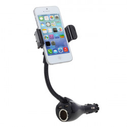 Zigarettenanzünder Anschluss mit Dual USB Car Phone Charger herumstehen