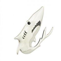Dekorative Cool 3D Shark Style Aluminum Alloy Badge Mærkat for Car