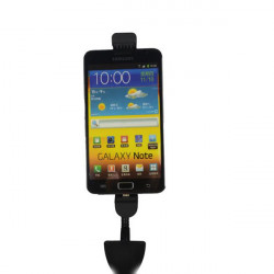 Dual USB Bil Mobiltelefon Holder til iPhone Samsung GPS