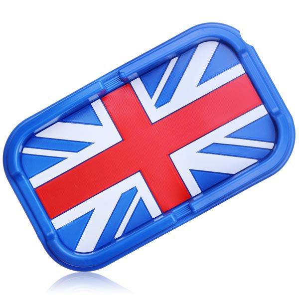 Flag Series Biltelefon Matt Navigation Hållare England Blue Interiör