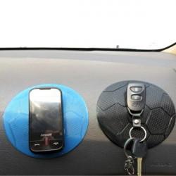 Fodbold Shape Mobiltelefon Bil Anti Slip Silikon Mat Sticky Pad