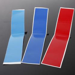 Grill M Stripe Color Dekal Vinyl Klistermärke för BMW 1 3 5 6 X3 X5 X6