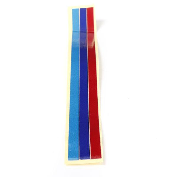 Njure Grill 3color Strip Dekal Vinyl Grill Klistermärke för BMW 1-7Series Exteriör