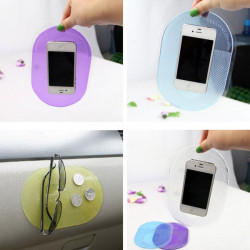 Large Size Transparent Non-slip Anti-shake Car Mat Pad Cusion