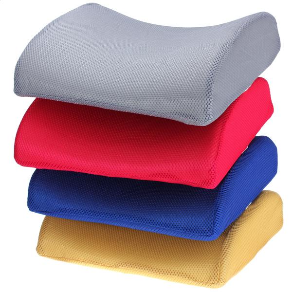 Memory Foam Lumbal Back Support Cushion til Office Bil Seat Chair Interiør Styling