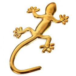 Metal Gecko Formad Bil Dekorativa Sticker