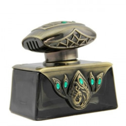 Peacock Perfume Bottle Bronze Bil Block-Style Parfume